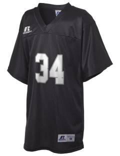 Del Puerto High School Bulldogs Russell Kid's Replica Football Jersey