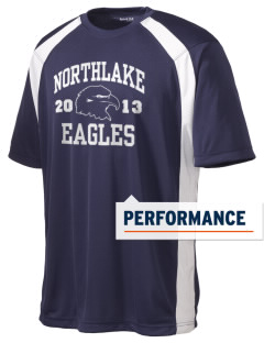 Northlake Elementary School Eagles Men's Dry Zone Colorblock T-Shirt