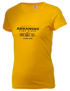 University of Arkansas Pine Bluff Golden Lions  Russell Women's Campus T-Shirt