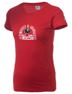 University of Arkansas - Fort Smith Lions  Russell Women's Campus T-Shirt