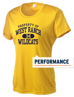 West Ranch High School Wildcats Women's Competitor Performance T-Shirt