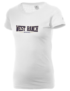 West Ranch High School Wildcats  Russell Women's Campus T-Shirt