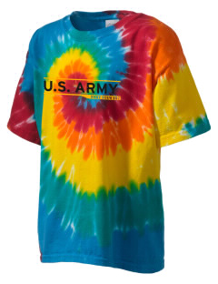 Fort Stewart Kid's Tie-Dye T-Shirt