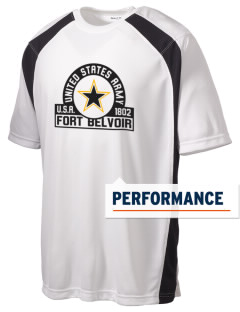 Fort Belvoir Men's Dry Zone Colorblock T-Shirt