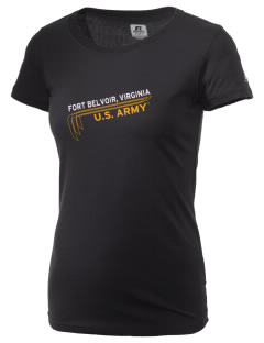 Fort Belvoir  Russell Women's Campus T-Shirt