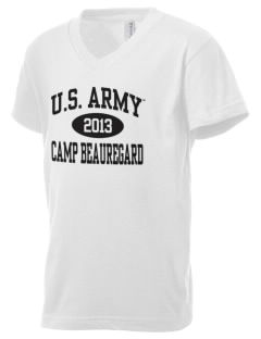 Camp Beauregard Kid's V-Neck Jersey T-Shirt