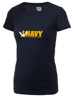 Jacksonville Naval Air Station  Russell Women's Campus T-Shirt