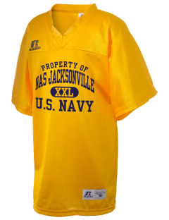 Jacksonville Naval Air Station Russell Kid's Replica Football Jersey