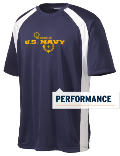 Bremerton Naval Station Men's Dry Zone Colorblock T-Shirt