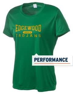 Edgewood High School Trojans Women's Competitor Performance T-Shirt
