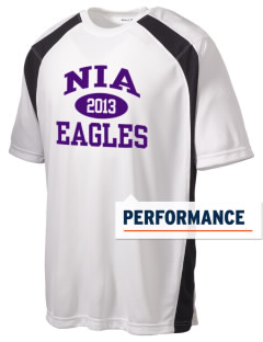NIA Community Public Charter School Eagles Men's Dry Zone Colorblock T-Shirt
