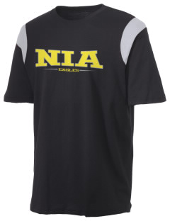 NIA Community Public Charter School Eagles Holloway Men's Rush T-Shirt