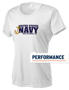 USS Olympia Women's Competitor Performance T-Shirt