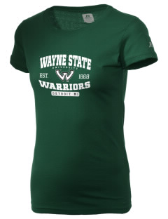 Wayne State University Warriors  Russell Women's Campus T-Shirt