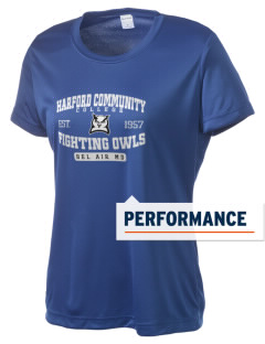Harford Community College Fighting Owls Women's Competitor Performance T-Shirt