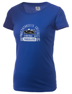 Massachusetts College of Liberal Arts Trailblazers  Russell Women's Campus T-Shirt