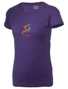 Salem State University Vikings  Russell Women's Campus T-Shirt
