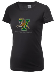 The University of Vermont Catamounts  Russell Women's Campus T-Shirt