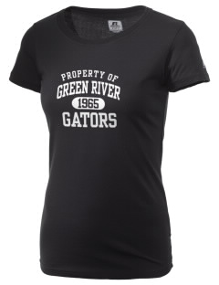 Green River Community College Gators  Russell Women's Campus T-Shirt