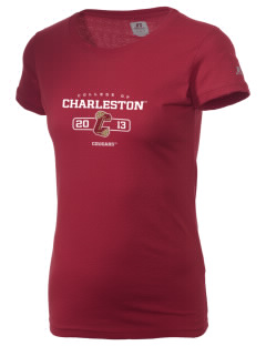 College of Charleston Cougars  Russell Women's Campus T-Shirt