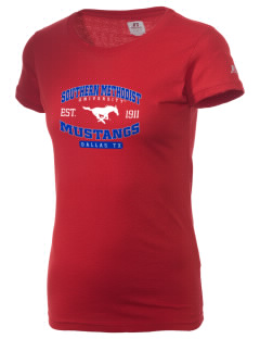 Southern Methodist University Mustangs  Russell Women's Campus T-Shirt