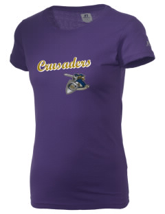Christendom College Crusaders  Russell Women's Campus T-Shirt