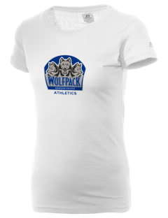Madison Area Technical College WolfPack  Russell Women's Campus T-Shirt