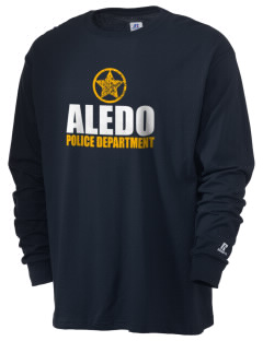 Aledo Police Department  Russell Men's Long Sleeve T-Shirt