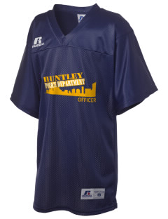Huntley Police Department Russell Kid's Replica Football Jersey