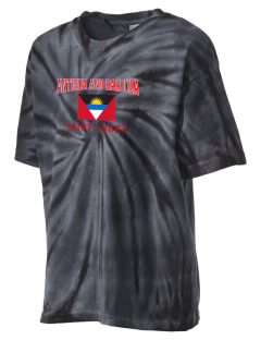 Antigua and Barbuda Kid's Tie-Dye T-Shirt