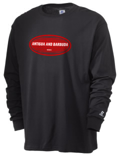 Antigua and Barbuda  Russell Men's Long Sleeve T-Shirt