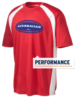 Azerbaijan Men's Dry Zone Colorblock T-Shirt
