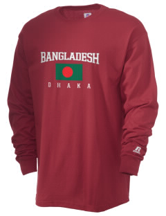 Bangladesh  Russell Men's Long Sleeve T-Shirt