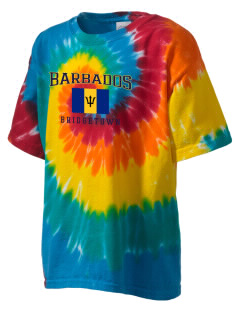 Barbados Kid's Tie-Dye T-Shirt