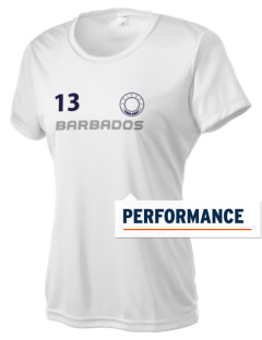 Barbados Women's Competitor Performance T-Shirt