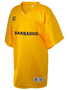 Barbados Russell Kid's Replica Football Jersey