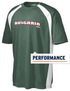 Bulgaria Men's Dry Zone Colorblock T-Shirt