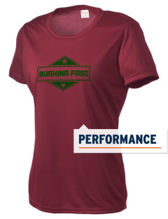 Burkina Faso Women's Competitor Performance T-Shirt