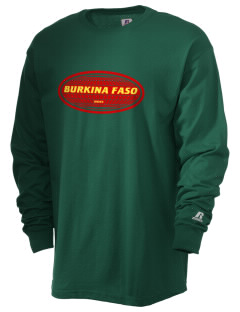 Burkina Faso  Russell Men's Long Sleeve T-Shirt