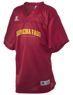 Burkina Faso Russell Kid's Replica Football Jersey