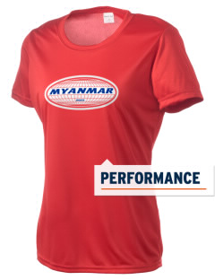 Myanmar Women's Competitor Performance T-Shirt