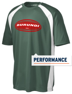 Burundi Men's Dry Zone Colorblock T-Shirt