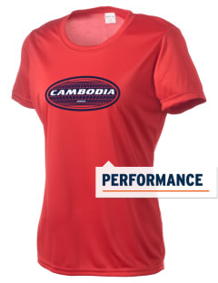 Cambodia Women's Competitor Performance T-Shirt