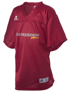 Cameroon Russell Kid's Replica Football Jersey