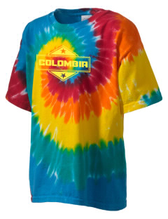 Colombia Kid's Tie-Dye T-Shirt