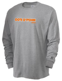 Cote d'Ivoire  Russell Men's Long Sleeve T-Shirt