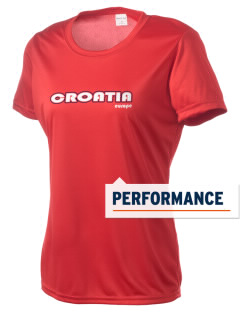 Croatia Women's Competitor Performance T-Shirt