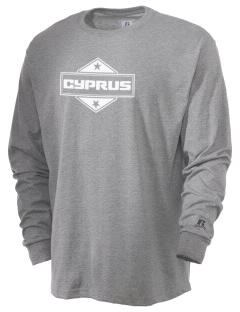 Cyprus  Russell Men's Long Sleeve T-Shirt