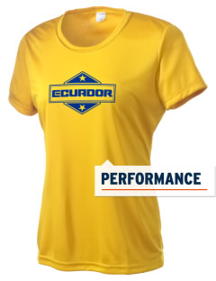 Ecuador Women's Competitor Performance T-Shirt