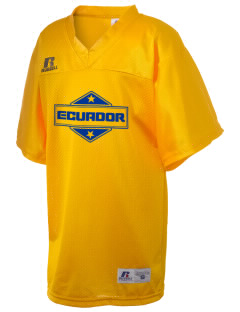 Ecuador Russell Kid's Replica Football Jersey